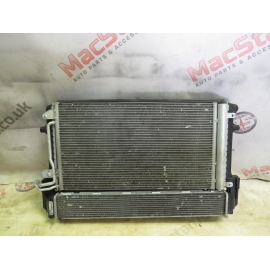 VW POLO AUDI A1 GENUINE RADIATOR PACK FAN 1.4 TSI 2016-ON NEW MODEL