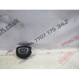 AUDI A4 A5 FACE LIFT STEERING AIR BAG IN BLACK 2012-15 MODELS